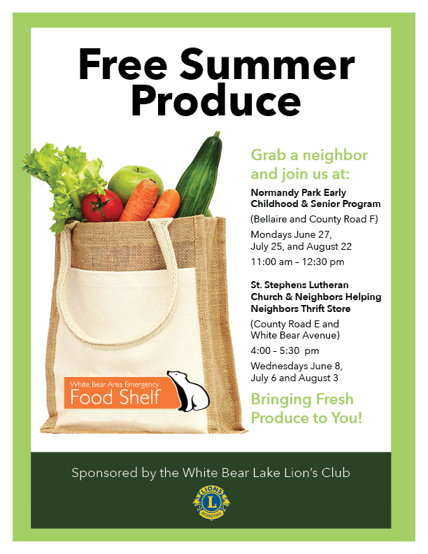 Free Summer Produce Sign